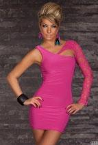 Розовое платье АРТ-304