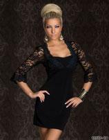 Элегантное черное платье АРТ-365-82