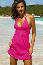 Пляжное розовое платье АРТ-П309