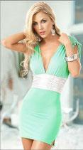 Платье бирюзовое АРТ-302