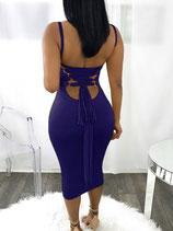 Платье синее АРТ -307