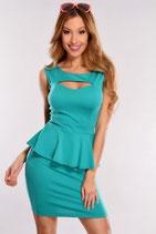 Бирюзовое платье АРТ-345-5