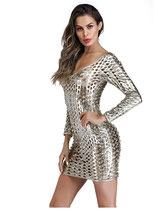 Платье серебро АРТ-701-2