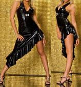 Виниловое платье АРТ-423