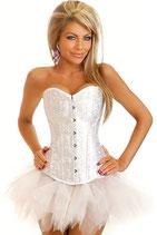 Белый корсет + юбка