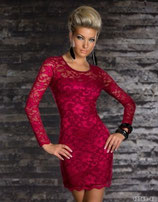 Платье вишневое АРТ-316.6