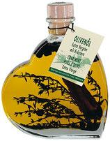 Italienisches Olivenöl extra vergine mit Kräutern