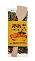 Gewürz mit Löffel Spaghettata