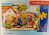 Castorland - Three Little Pigs - Puzzle