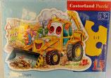 Castorland - A Smiling Digger - Puzzle