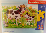 Castorland - Cows on a Meadow - Puzzle