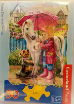 Castorland - Rainy Day with Friends - Puzzle