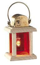 Kahlert Licht 29664 - Krippenzubehör - Holzlaterne LED