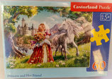 Castorland - Princess and Her Friend - Puzzle