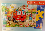 Castorland - Firefighters team - Puzzle