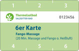 6er Karte Fango-Massage
