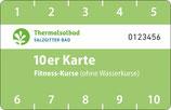 10er Karte Fitness-Kurse