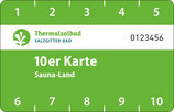 10er Karte Sauna-Land