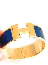 Hermès Clic-Clac H Armband Ultramarine