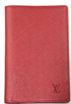 Louis Vuitton Wallet in rot