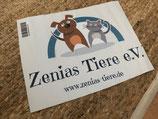Zenias Tiere Heckscheibenaufkleber