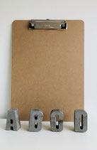 Klembord A4 met platte klem