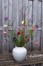 Wild tulpenboeket