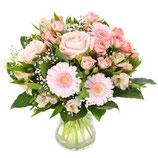 Zacht roze boeket