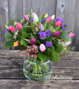 Kleurenmix tulpen