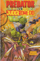 PREDATOR VS JUDGE DREED volume unico ed. Magic Press