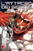L'ATTACCO DEI GIGANTI da 1 a 20 ed. planet manga