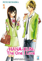 HANA-KUN, THE ONE I LOVE da 1 a 10 ed. star comics