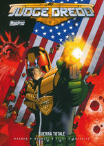 JUDGE DREDD: GUERRA TOTALE volume unico ed. Magic Press