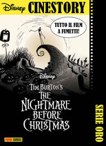 TIM BURTON'S THE NIGHTMARE BEFORE CHRISTMAS ed. panini comics cinestory oro