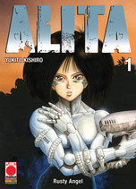 ALITA nuova edizione da 1 a 9 [di 9] ed. planet manga