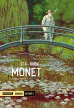 MONET: LA BIOGRAFIA A FUMETTI volume unico ed. MONDADORI