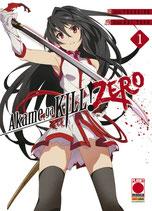 AKAME GA KILL ZERO da 1 a 3 ed. planet manga