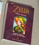 THE LEGEND OF ZELDA PERFECT EDITION 3 - MAJORA'S MASK/A LINK TO THE PAST volume unico ed. j-pop