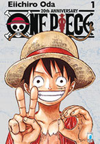 ONE PIECE 20th Anniversary Limited Edition Silver 1 ed. star comics