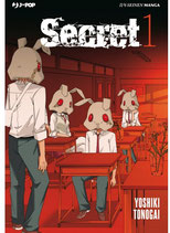 SECRET da 1 a 3 [di 3] ed. j-pop