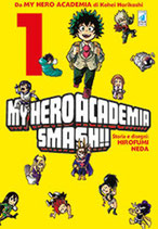 MY HERO ACADEMIA SMASH!! volume 1 ed. star comics