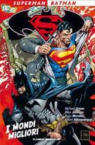SUPERMAN/BATMAN I MONDI MIGLIORI volume unico ed. planeta de agostini