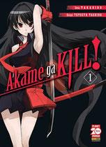 AKAME GA KILL da 1 a 12 + AKAME GA KILL volume 1 ed. planet manga per jessicfranceschin0