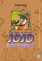 JOJO Le Bizzarre Avventure - BATTLE TENDENCY da 1 a 4 [di 4] ed. star comics 2° serie