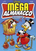 MEGA ALMANACCO NOVEMBRE volume 11 ed. panini comics