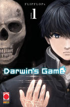 DARWIN'S GAME da 1 a 5 ed. planet manga