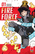 FIRE FORCE da 1 a 4 ed. planet manga
