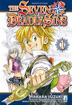 THE SEVEN DEADLY SINS - NANATSU NO TAIZAI da 1 a 21 ed. star comics