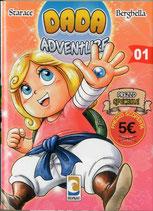 DADA ADVENTURE volume 1 ed. Mangasenpai