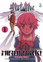 MIRAI NIKKI FUTURE DIARY completa 1-12 + paradox + mosaic ed. star comics